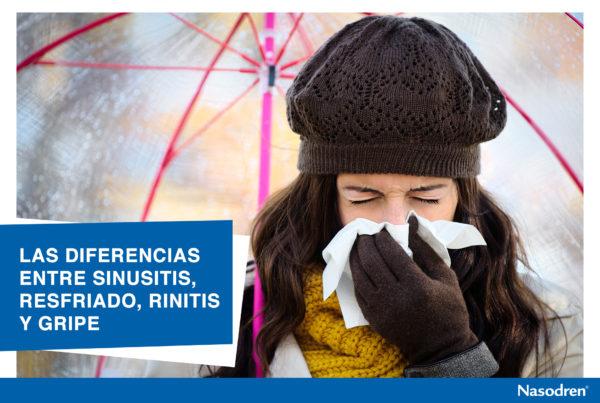Las Diferencias entre Sinusitis, Resfriado, Rinitis y Gripe